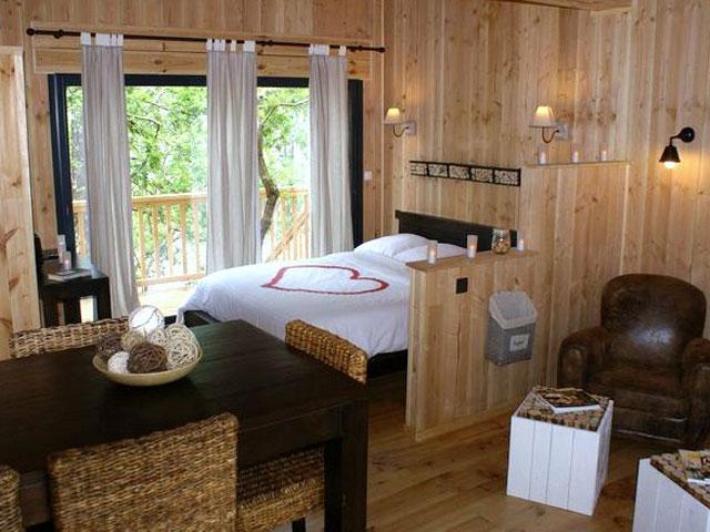 location de vacances, gîte la cabane au bord du lac biscarrosse